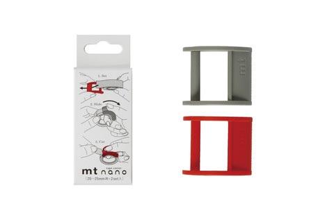 MTTC0017_Cutter nano 20-25mm type x 2 set red-gray