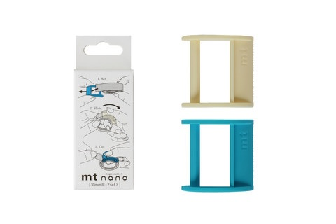 MTTC0018_Cutter nano 30mm type x 2 set white-blue