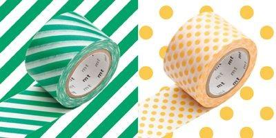 MTWIDE12Z_Wide L-Stripe green x dot apricot