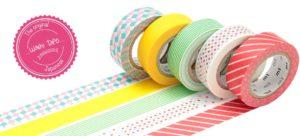 cinta decorativa adhesiva